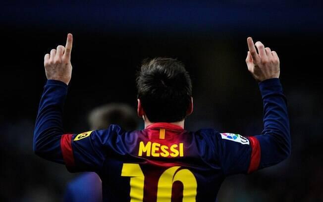 Messi marcou quatro gols na vitória do  Barcelona sobre o Osasuna