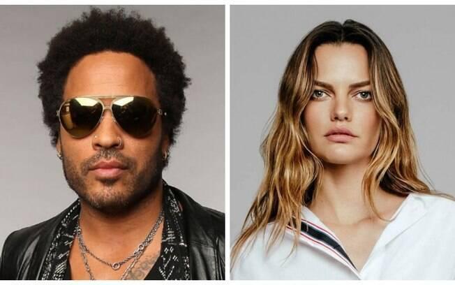O novo amor de Lenny Kravitz é a brasileira Barbara Fialho