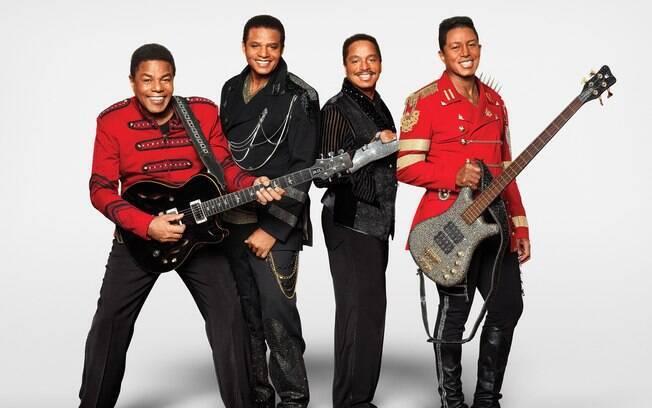 The Jacksons anunciaram show no Brasil em março de 2019