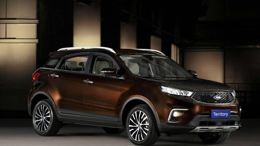 Importado da China, Ford Territory viu suas vendas caírem no primeiro trimestre de 2021