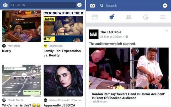 Esta não é a primeira experiência para tornar o Facebook mais instantâneo e com foco em notícias