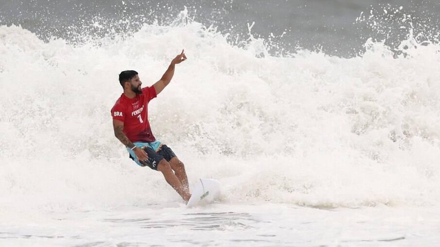 Ítalo Ferreira tira a maior nota dos Jogos Olímpicos até agora