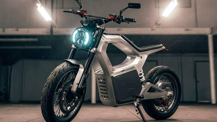 Sondors Metacycle: até pelo desenho já é possível notar que as motos também estão entrando em uma nova era