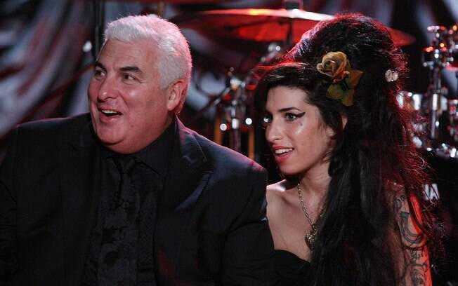 Amy Winehouse e o pai, Mitch