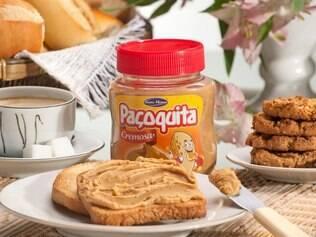 Disponível em embalagens de 180g, a versão cremosa da Paçoquita é uma alternativa à Nutella
