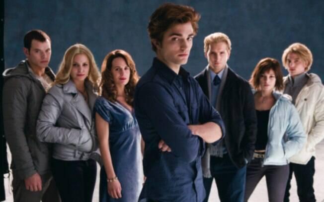 Os Cullens usaram lente de contato nos filmes da