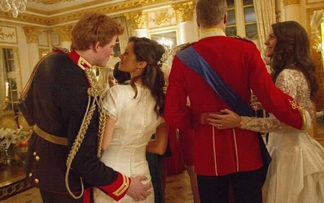 O Príncipe Harry fictício em flagra com Pippa Middleton ao lado dos