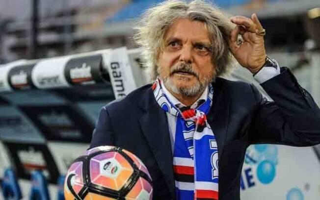 Massimo Ferrero, presidente da Sampdoria