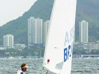 Medo. Velejadores admitem receio de competir no Rio de Janeiro em função da sujeira no mar