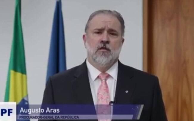 Novo procurador-geral%2C Augusto Aras envia%2C em vídeo%2C mensagem à equipe