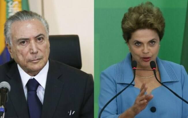 Segundo pesquisa, Michel Temer é reprovado por 70% dos entrevistados e Dilma Rousseff por 75%