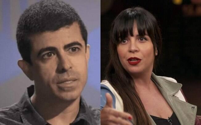 Marcius Melhem e Daniela Ocampo