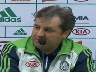 Kleina agradeceu o Palmeiras pelos 20 meses de trabalho