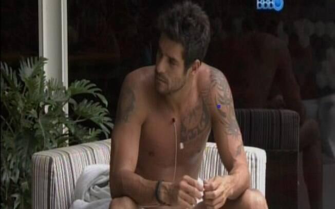 Diego acredita que eliminação de Franciele tenha sido