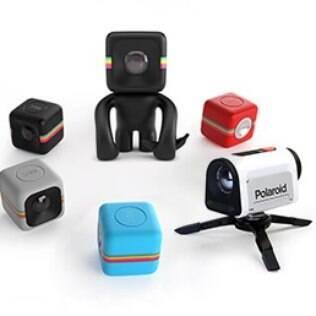A C3, a câmera que parece um dado de tão pequena, é uma das novidades em gadgets para ação da Polaroid