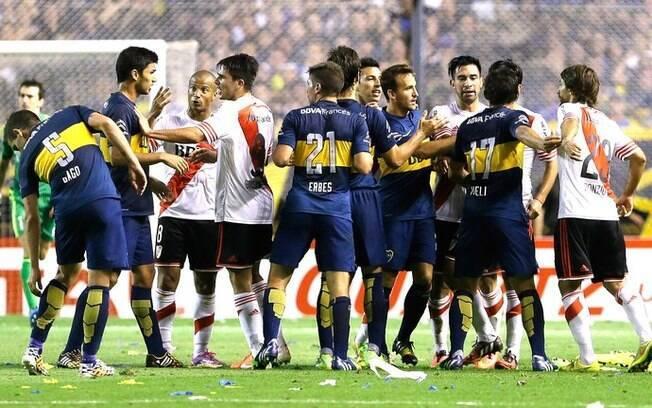 Boca Juniors x River Plate, um dos maiores clássicos do futebol