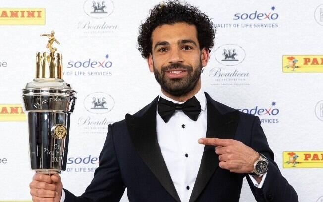 Mohamed Salah é eleito melhor jogador da Premier League