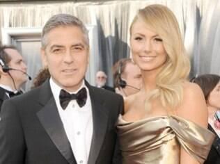 George Clooney e Stacy Kiebler