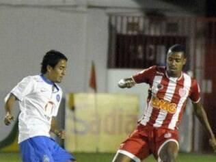 Bahia empatou com o Villa Nova no Alçapão do Bonfim