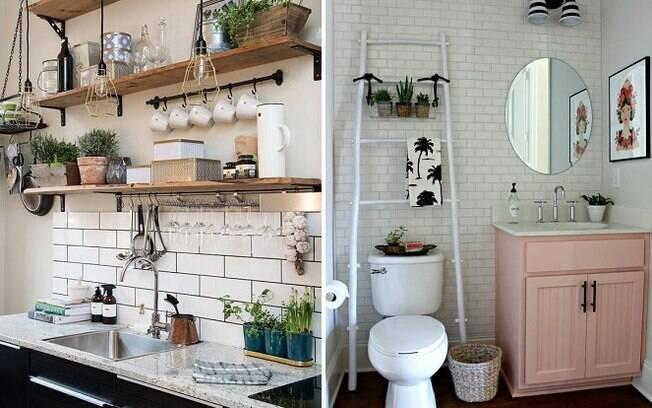 Além de dados sobre tendências de decoração da casa em geral, o levantamento do Pinterest engloba banheiros e cozinhas