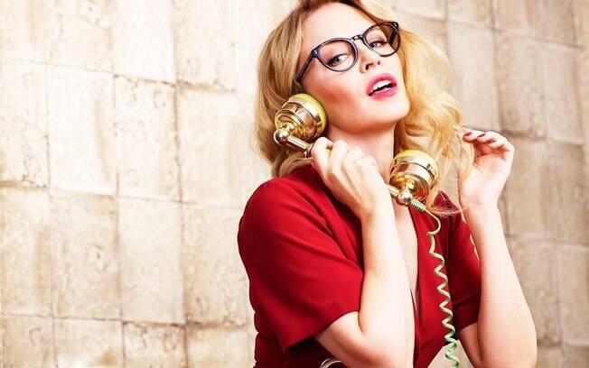 A cantora Kylie Minogue  é um verdadeiro ícone da moda há cerca de 30 anos