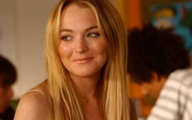 Lindsay Lohan em