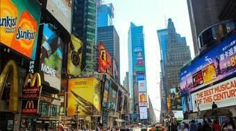 Tiroteio na Times Square, em Nova York, deixa três pessoas baleadas