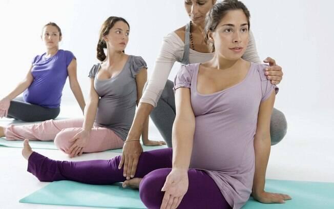 Exercício não é recomendado para grávidas, mas pode ser feito no pós-parto