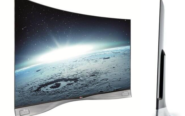 LG Curve com tela OLED modelo 55EA9800 de 55 polegadas passa a custar R$ 9.999,00