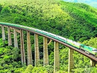 Ferrovias do país levam principalmente minério de ferro e grãos