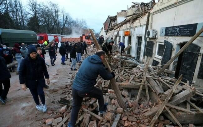 Dois sismos de magnitude 4,8 e 4,7 foram registrados na região de Sisak, a sudeste de Zagreb