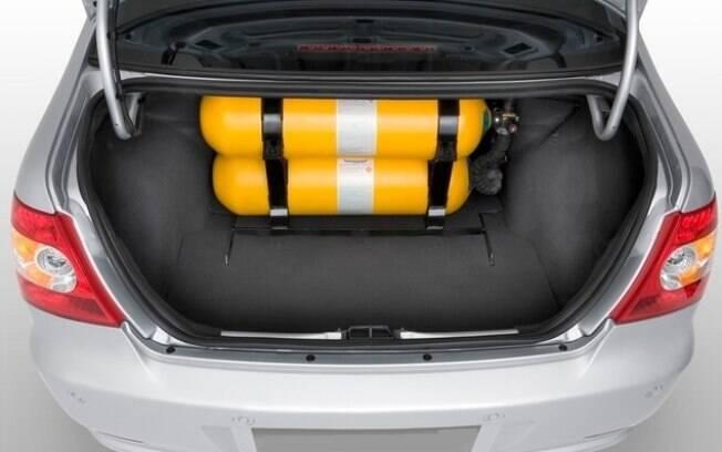 O kit gás conta com duas válvulas que podem interromper vazamentos