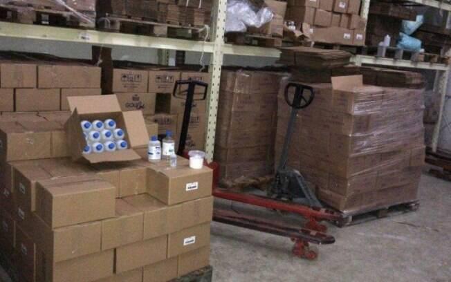 Mais de 15 mil litros de álcool foram apreendidos