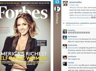 Jessica na Forbes: atriz cria negócio de US$ 1 bilhão vendendo 'tranquilidade para os pais'