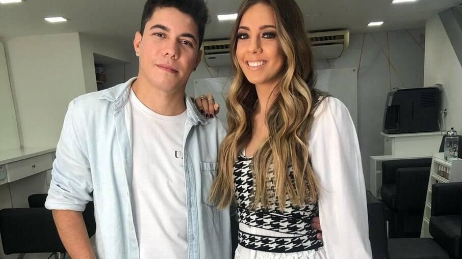Leo Carraro e Vicky Torres