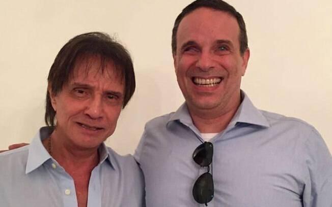 Roberto Carlos e seu filho