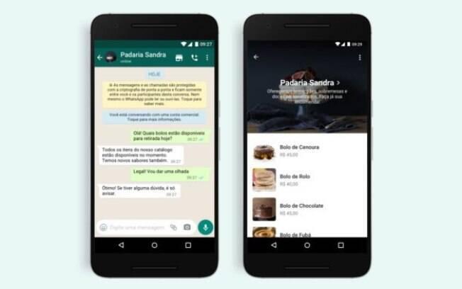 WhatsApp adiciona botão para facilitar compras pelo app
