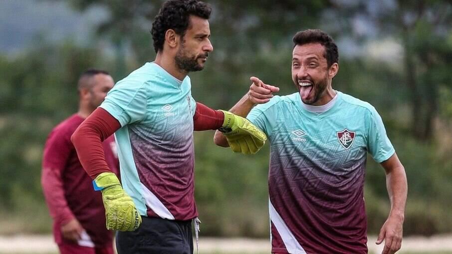 Fred e Nenê afastaram boatos de racha no elenco do Fluminense