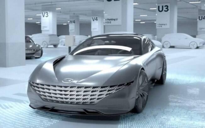 Protótipo revelado recentemente pela Hyundai:  veremos se a Kia terá algo tão futurista no Salão de Genebra 2019
