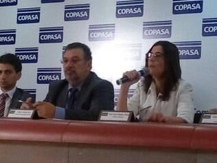 A Presidente da Copasa Sinara Meireles Chenna disse que a situação é crítica.
