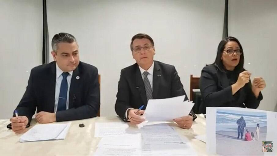 Live Bolsonaro 08/04
