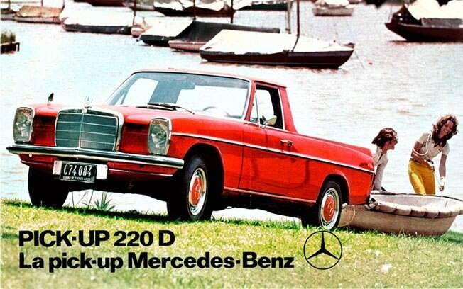 Vendida apenas na Argentina nos 1970, a Mercedes-Benz 220D é conhecida como