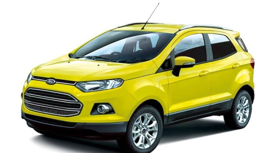 Ford EcoSport Special Edition: pintura amarela não poderia faltar na edição feita em alusão ao personagem