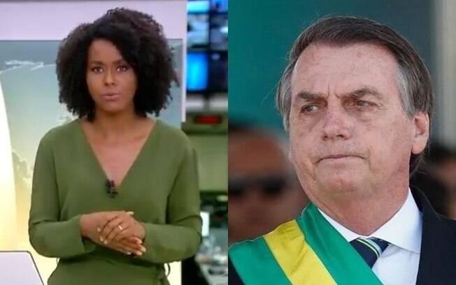 Maju é criticada por Bolsonaro
