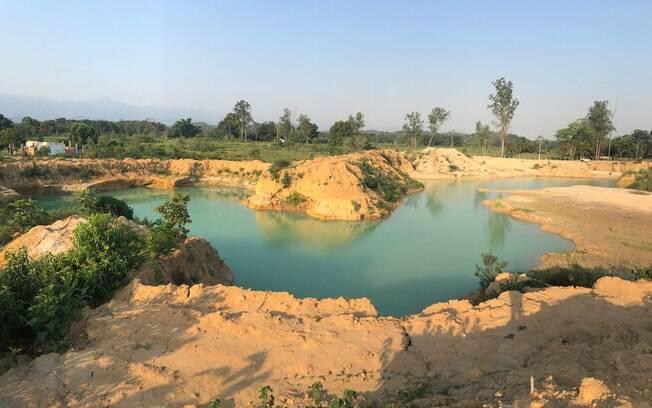 areal invadido por milicianos no rio