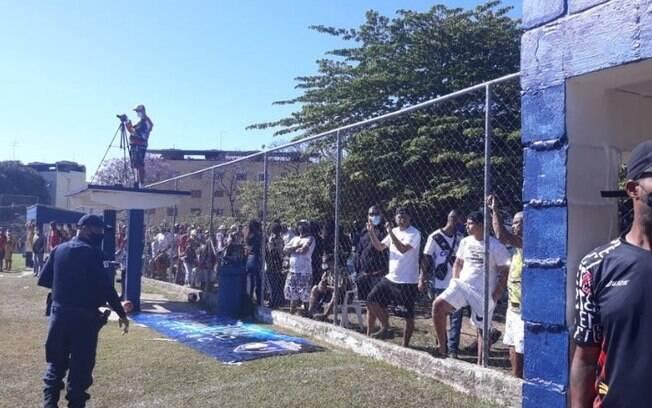 GM dispersa jogo de futebol com 500 pessoas em Campinas
