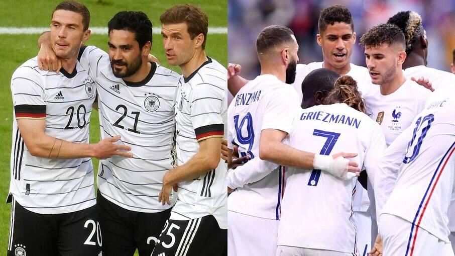 França X Alemanha
