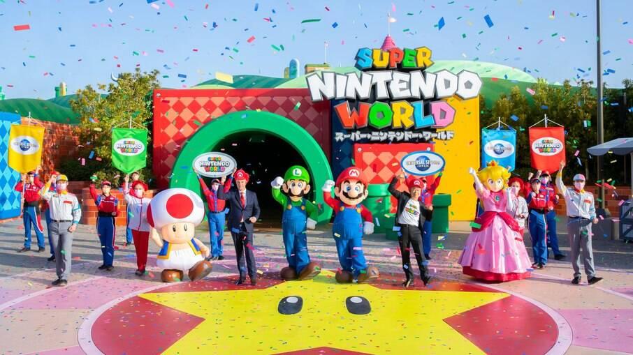 Espaço Super Nintendo World foi inaugurado na última quinta-feira, 18, na Universal Japão