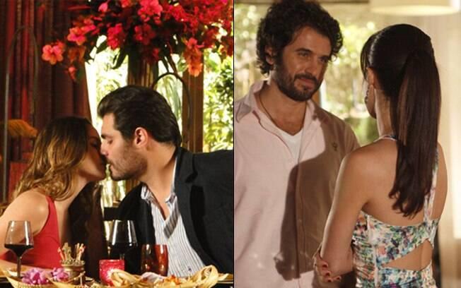 Novos amores: Ana se apaixona por seu médico, Lúcio, e Manu começa a namorar com Gabriel