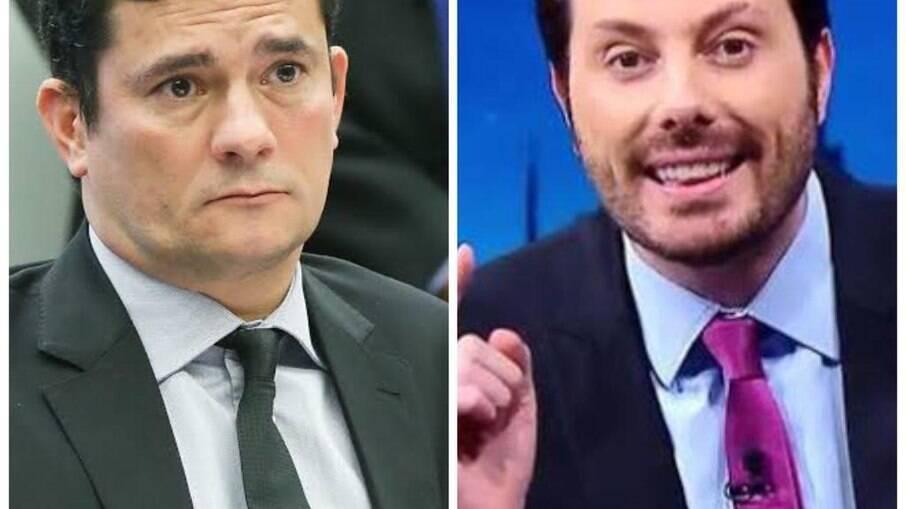 Humorista Danilo Gentili defende chapa Amoêdo-Moro para concorrer as eleições 2022